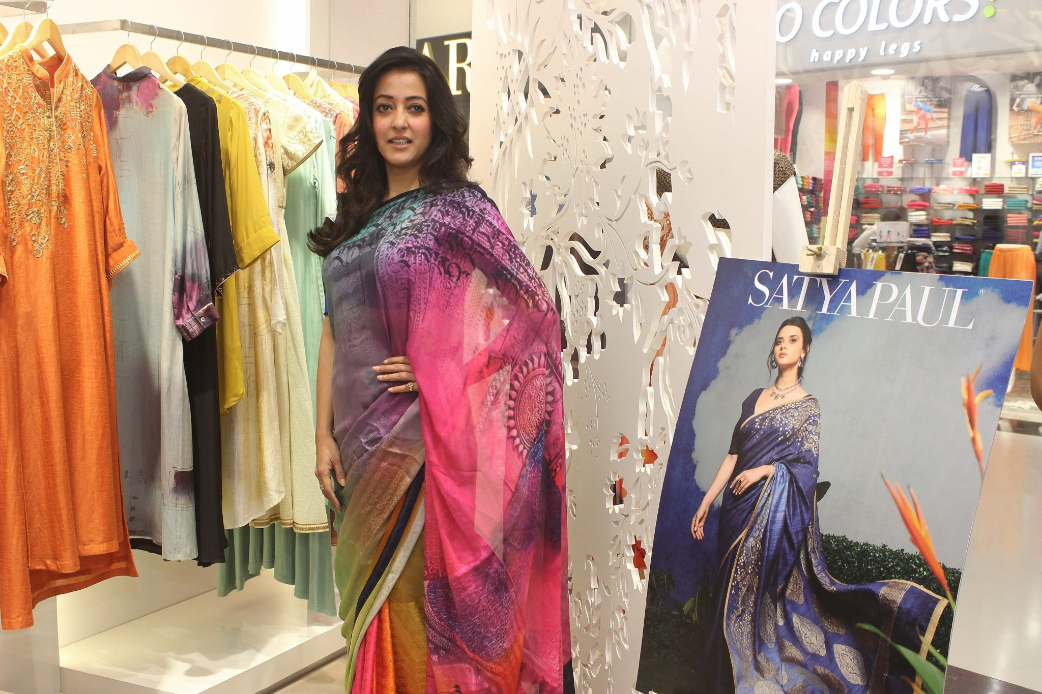 Satya Paul's for the celebration of their second store in Kolkata""