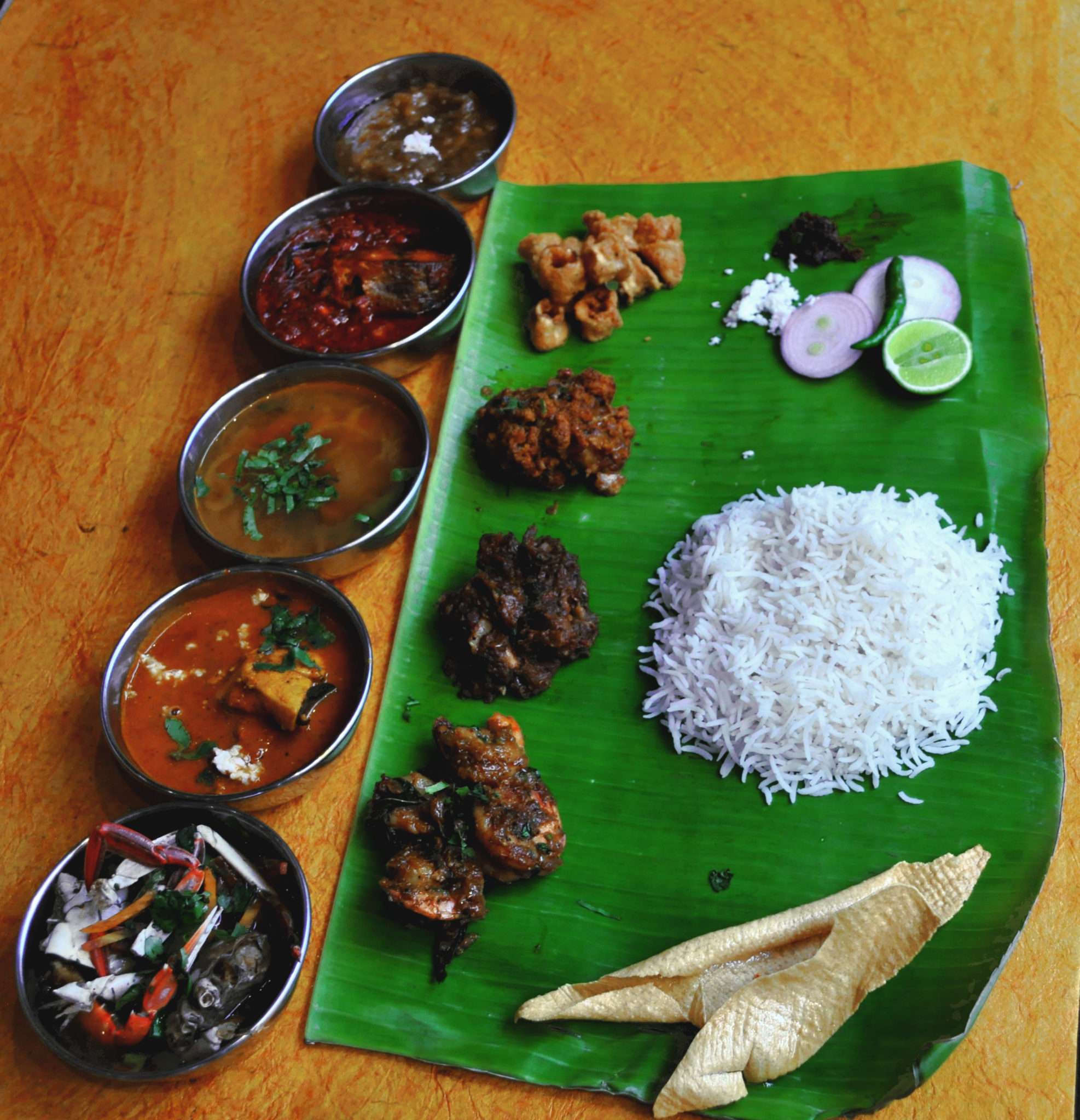 GRANDE MACHA THALI @ THE COASTAL MACHA
