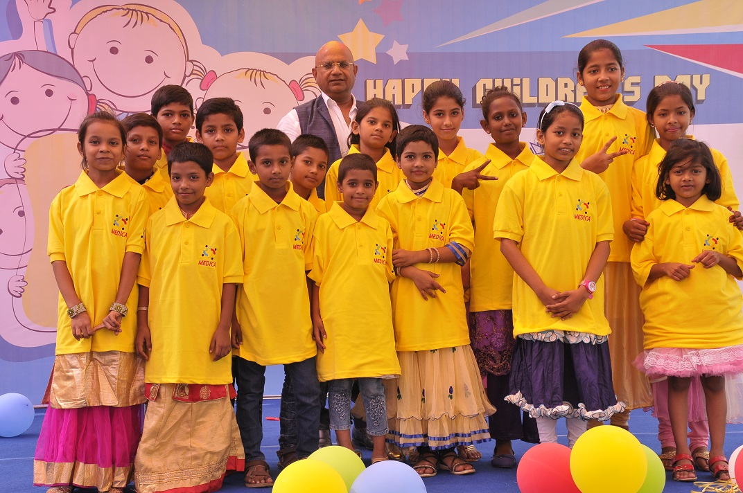 The City of Joy witnessed a day-long carnival with 100 underprivileged Kids on Children's Day