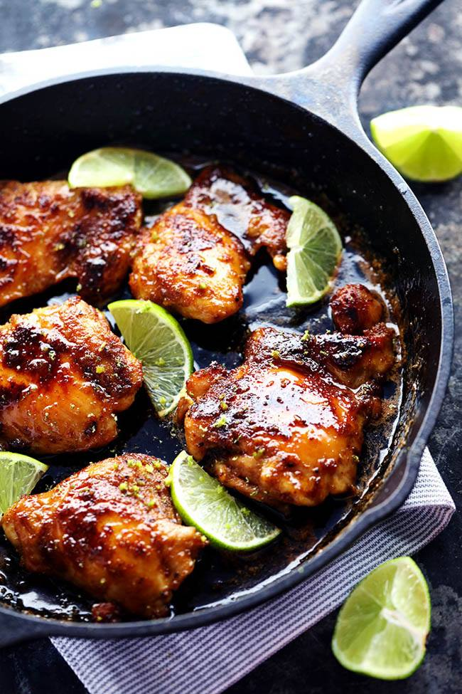 HONEY LIME CHICKEN recipes