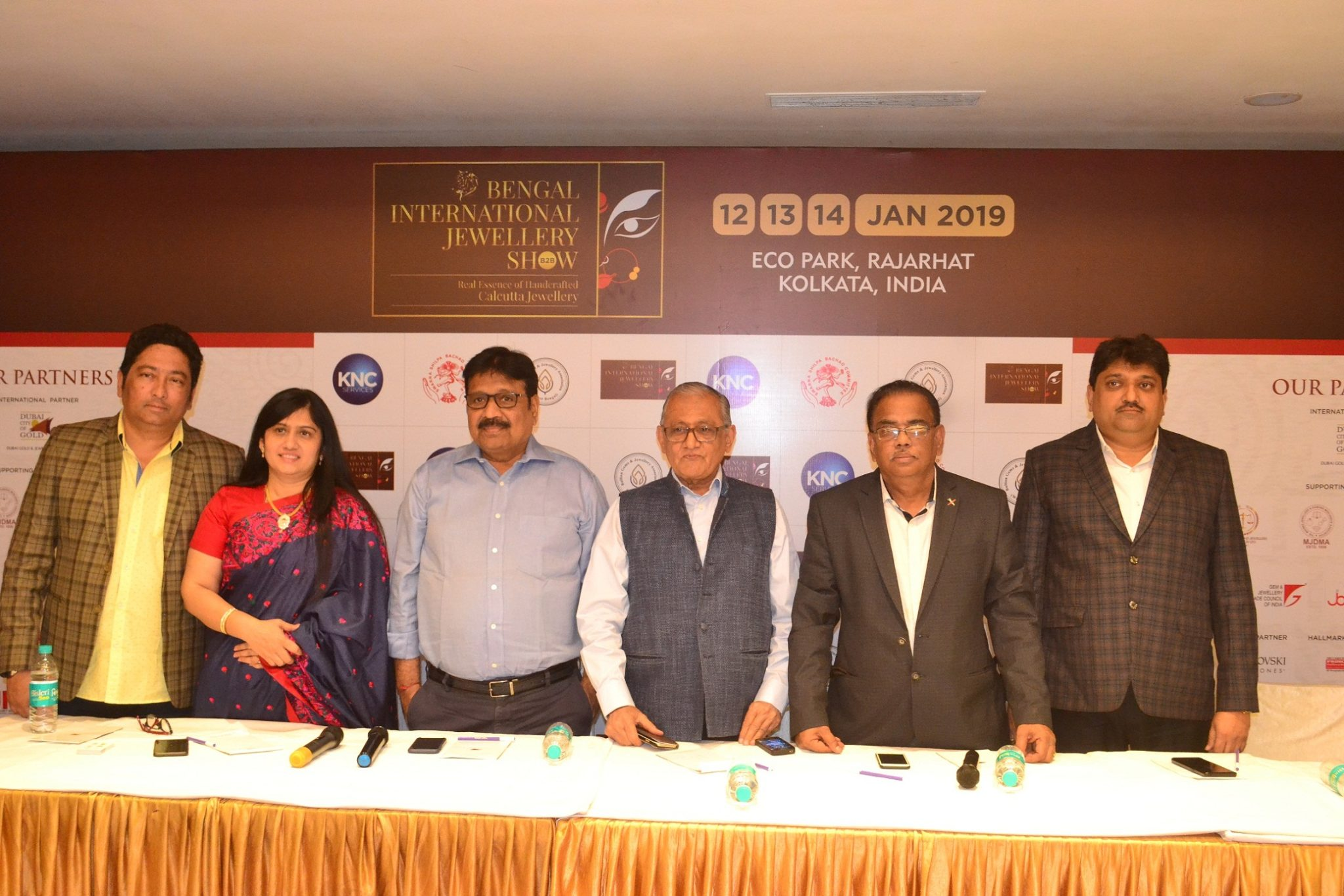 Kolkata's first B2B International jewellery Event the Bengal International Jewellery Show 2019