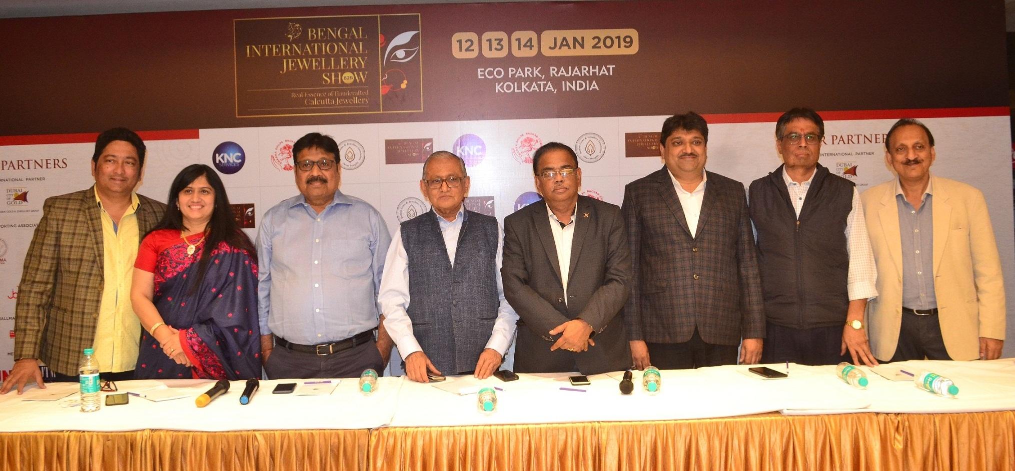 Kolkata's first B2B International jewellery Event the Bengal International Jewellery Show 2019