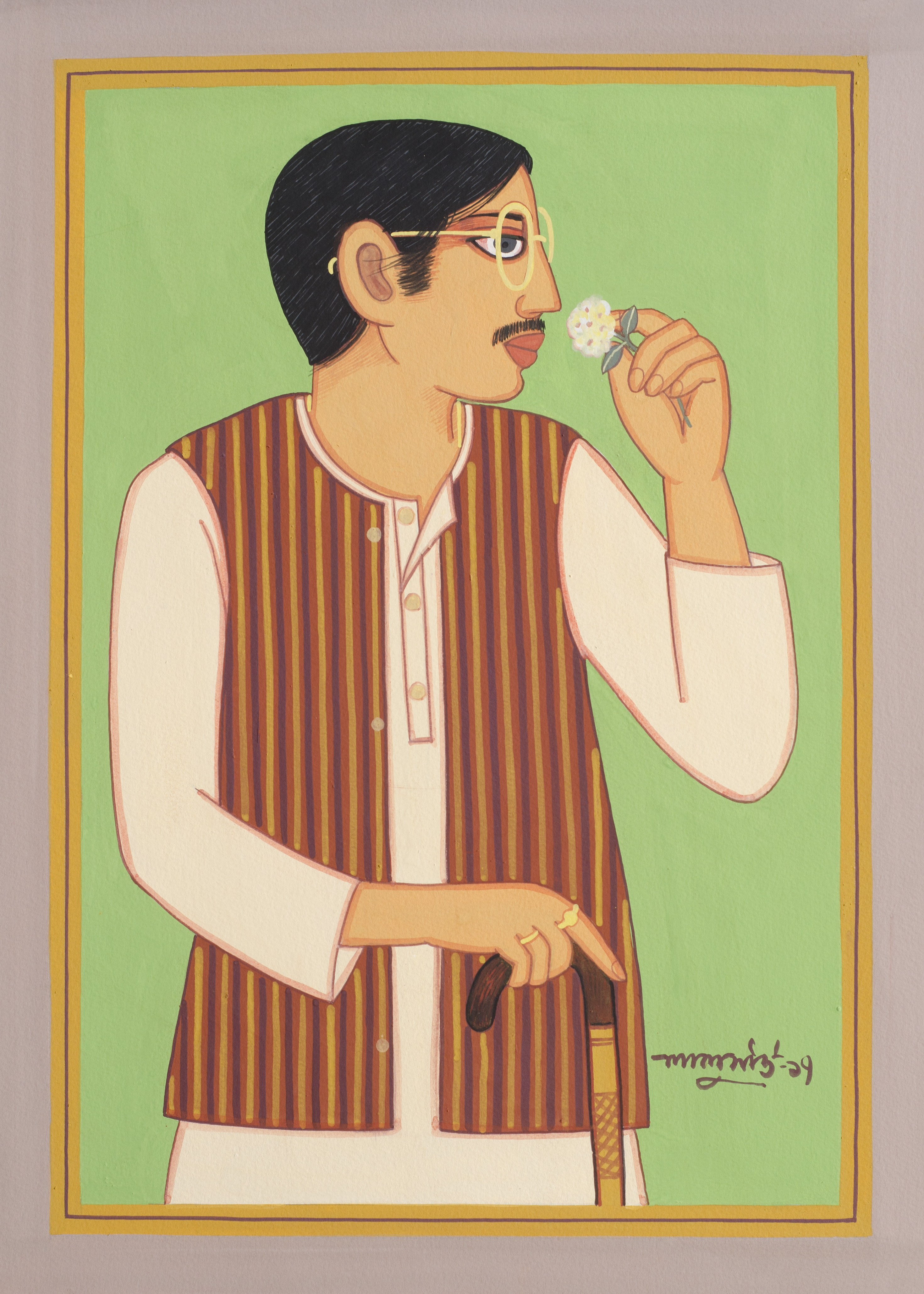 A Solo Exhibition by Lalu Prasad Shaw