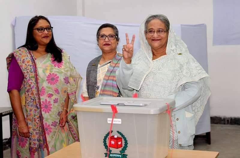 Hasina wins 11th parliamentary election