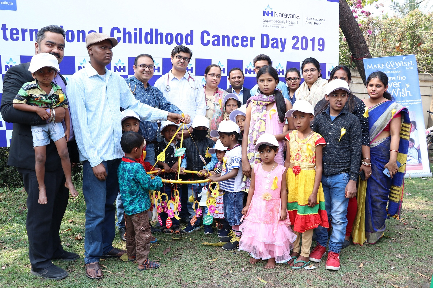 Narayana Superspeciality Hospital, Howrah conducts an awareness programme on Childhood Cancer to commemorate International Childhood Cancer Day