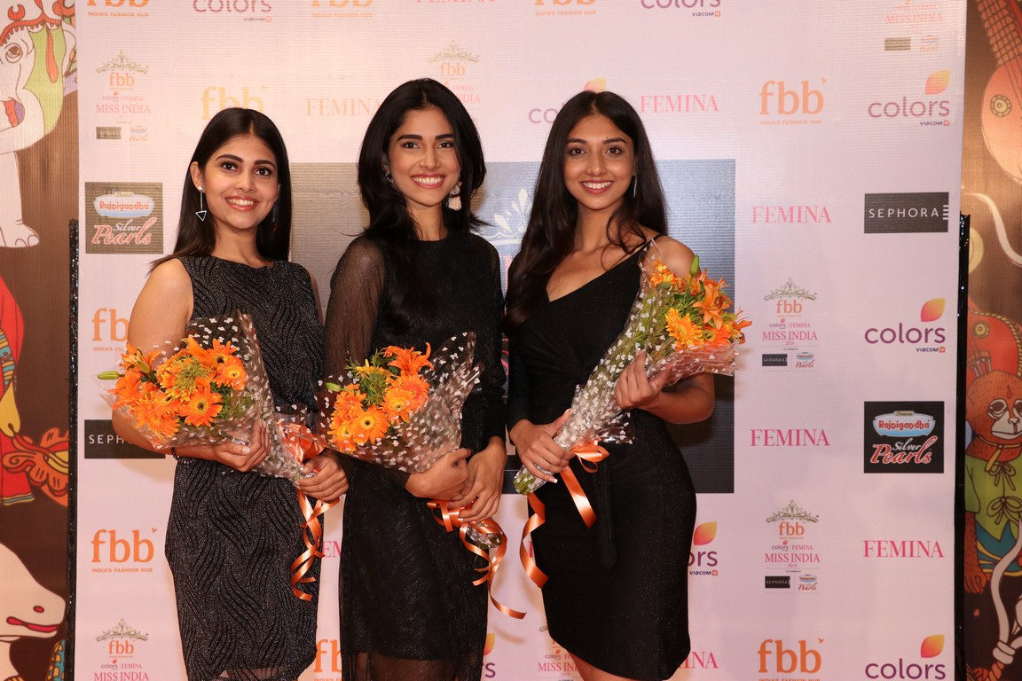 West Bengal scouts its top 3 girls at the fbb Colors Femina Miss India 2019