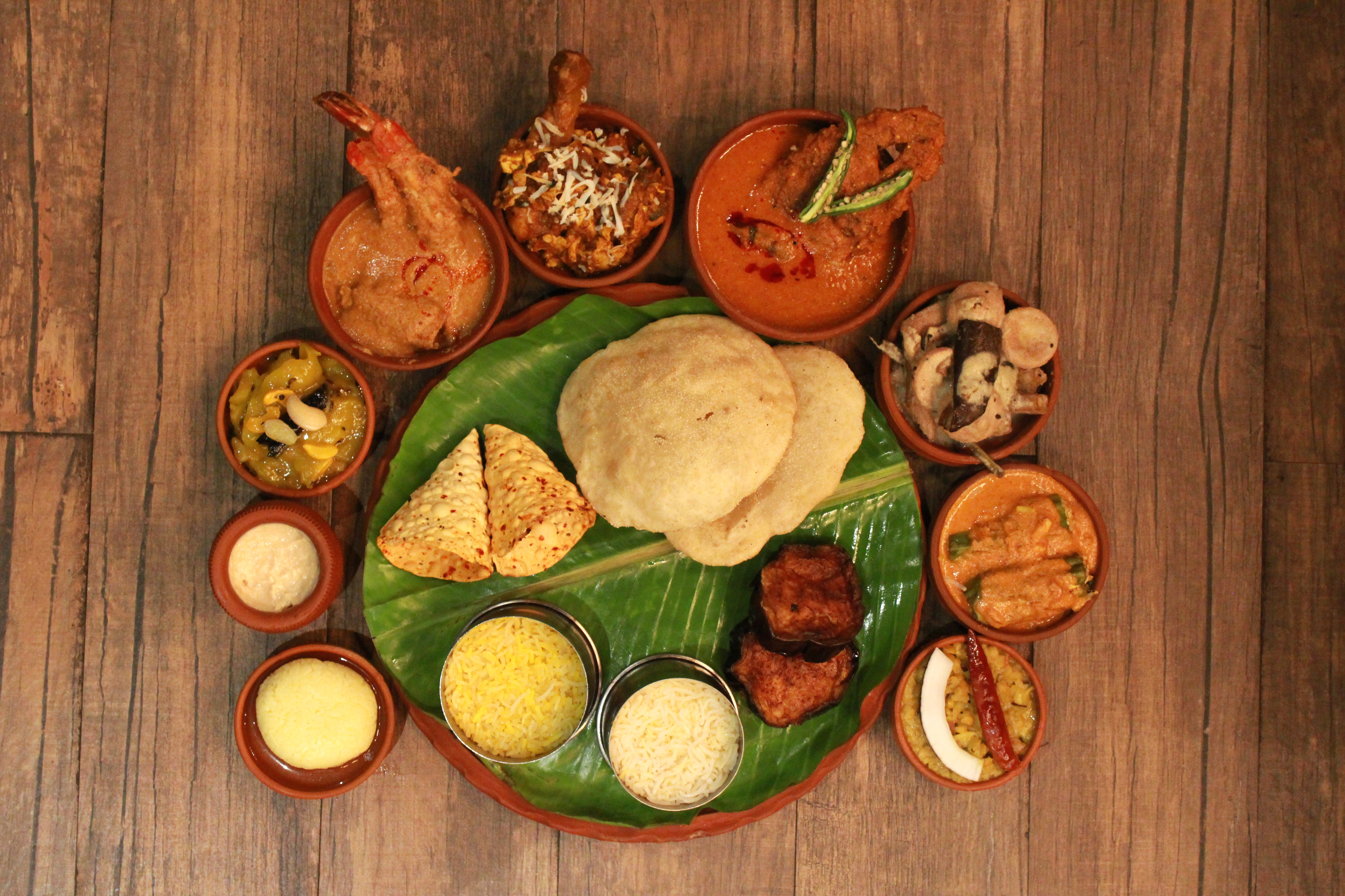 Poila Baisakh thali at Friday Release, Salt Lake