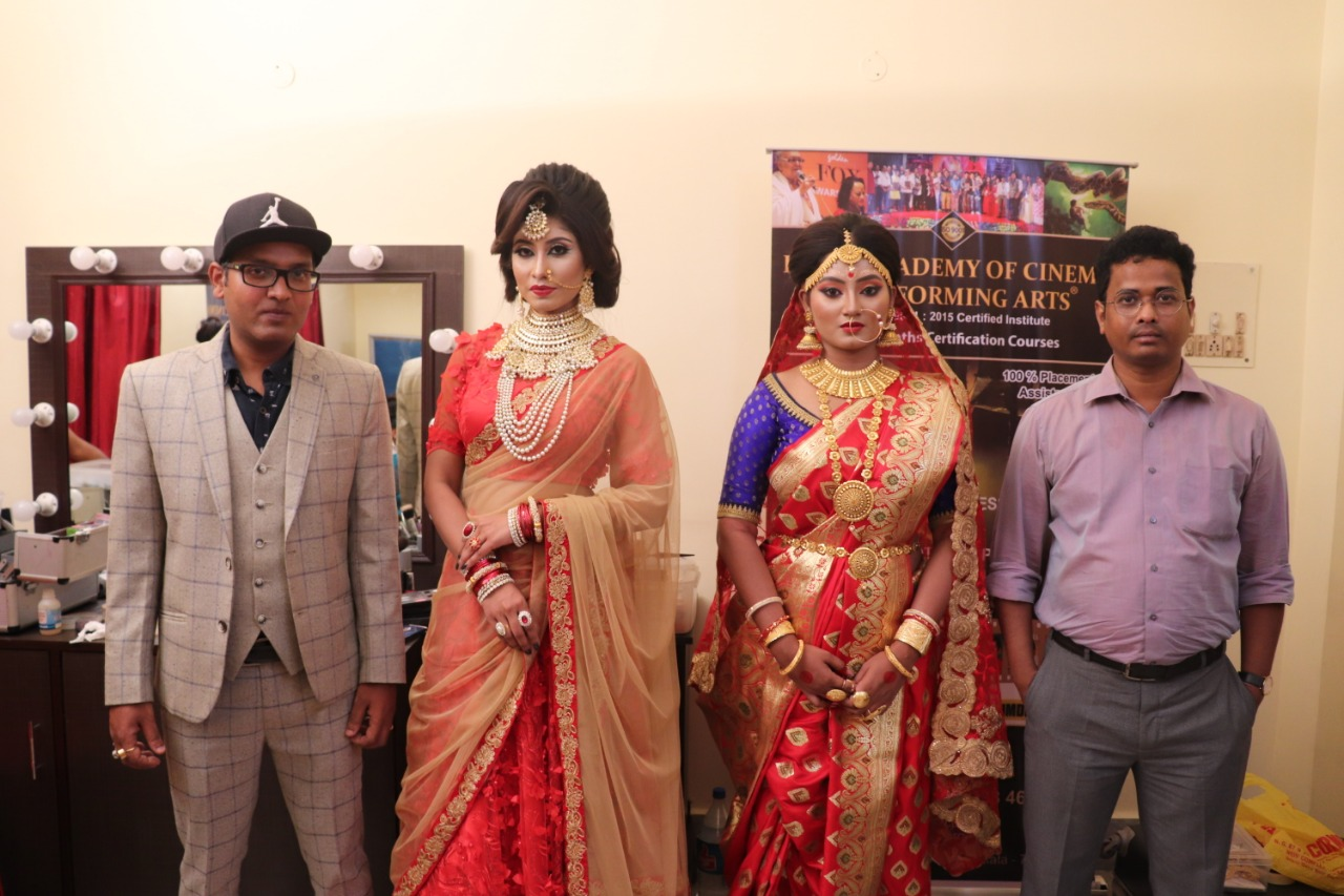 RACPA Organized Free Workshop on 'Make Up' with Industry Makeup Artist Alok Shah