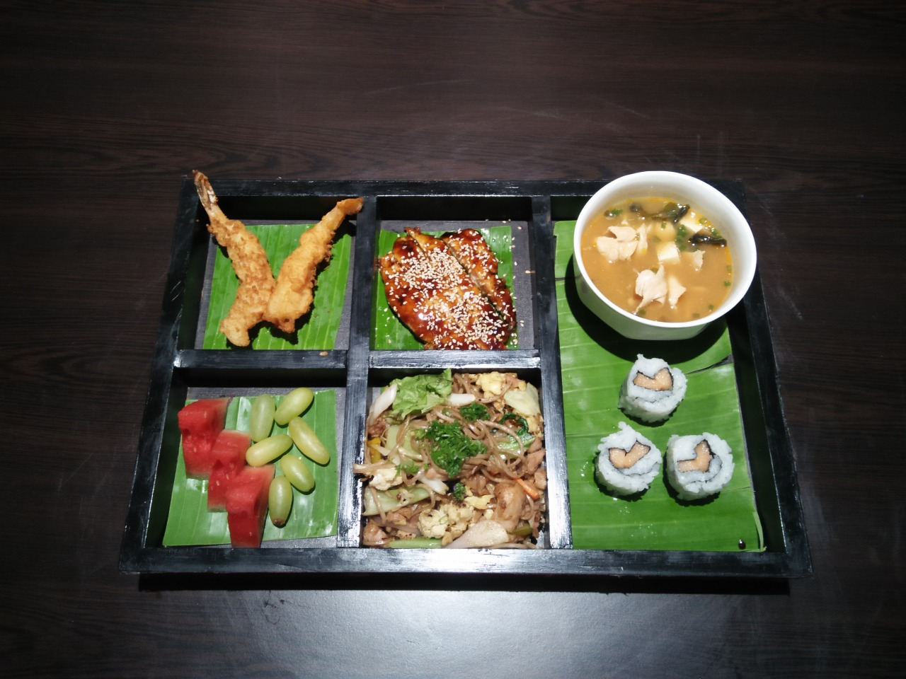 BENTO BOXES AND LUNCH COMBO OFFERS AT WASABEE