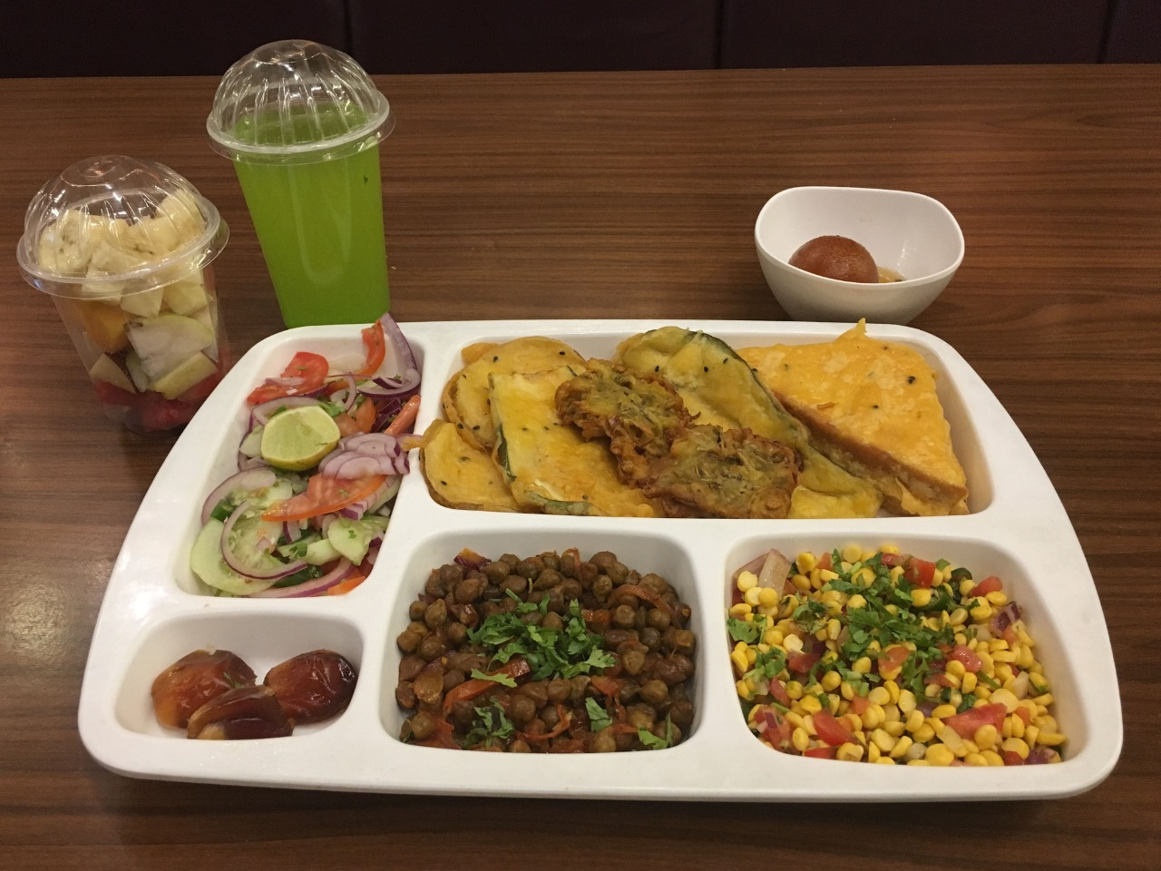 IFTAR THALI AT DESI STREAT, Q-COURT