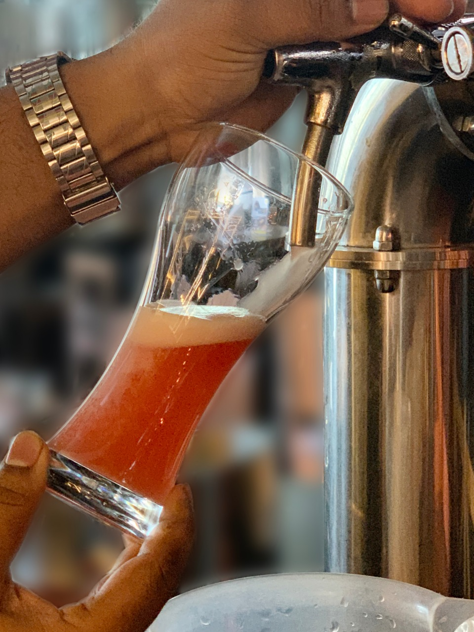 Raize The Bar introducesfirst Rose Wheat Ale in the city with their New Menu  Items