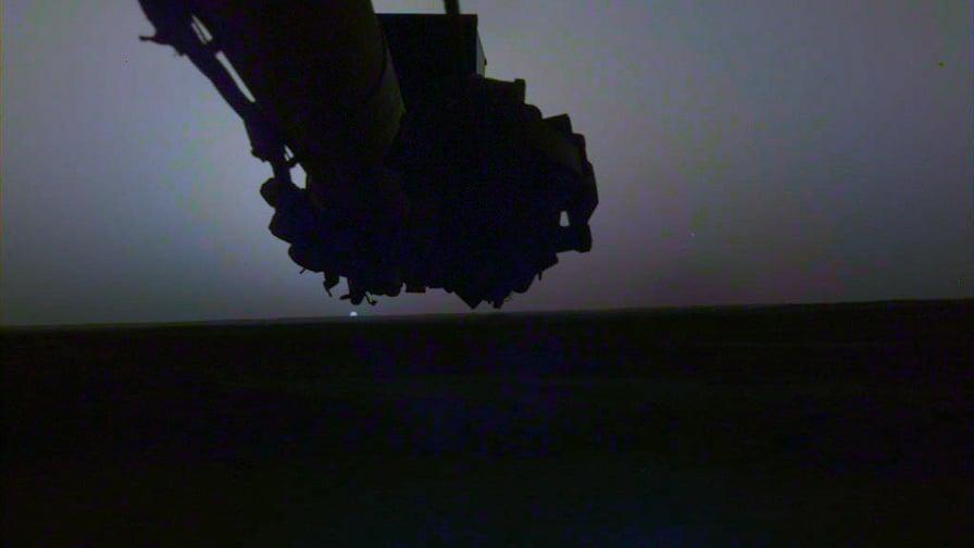 মঙ্গলগ্রহের সূর্যোদয় এবং সূর্যাস্তের ছবি প্রকাশ করলো নাসার ইনসাইট ল্যান্ডার