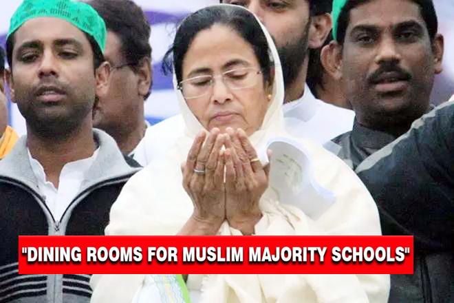 ৭০% মুসলিম পড়ুয়াদের স্কুলগুলোতে খাবার ঘরের নির্দেশ দিলো রাজ্য সরকার
