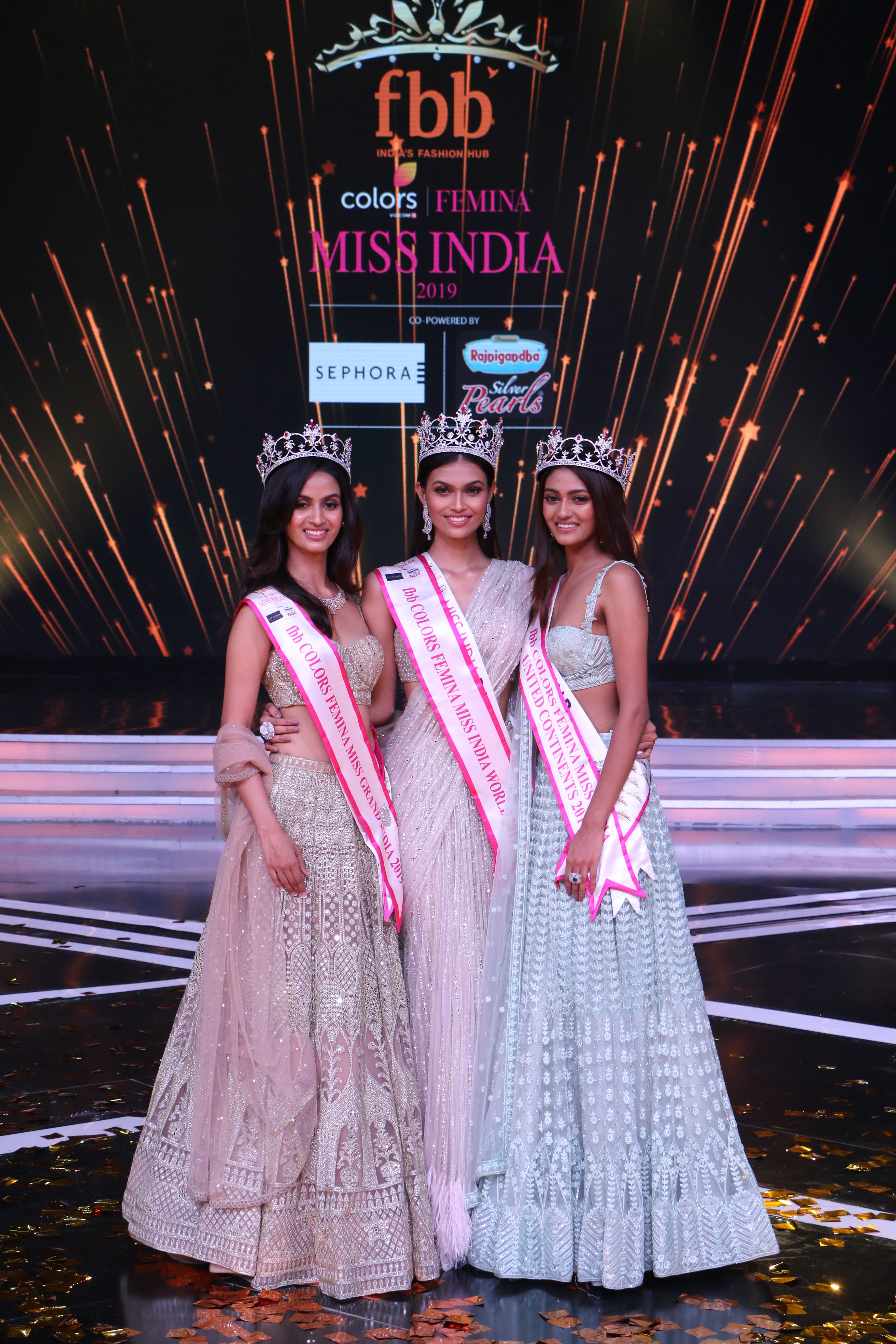 Dreams come true at the Miss India 2019 Grand Finale