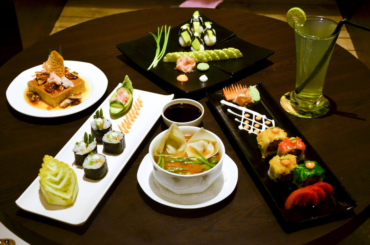 ENJOY THE NEW SUSHI AND DIM-SUM MENU AT WASABEE