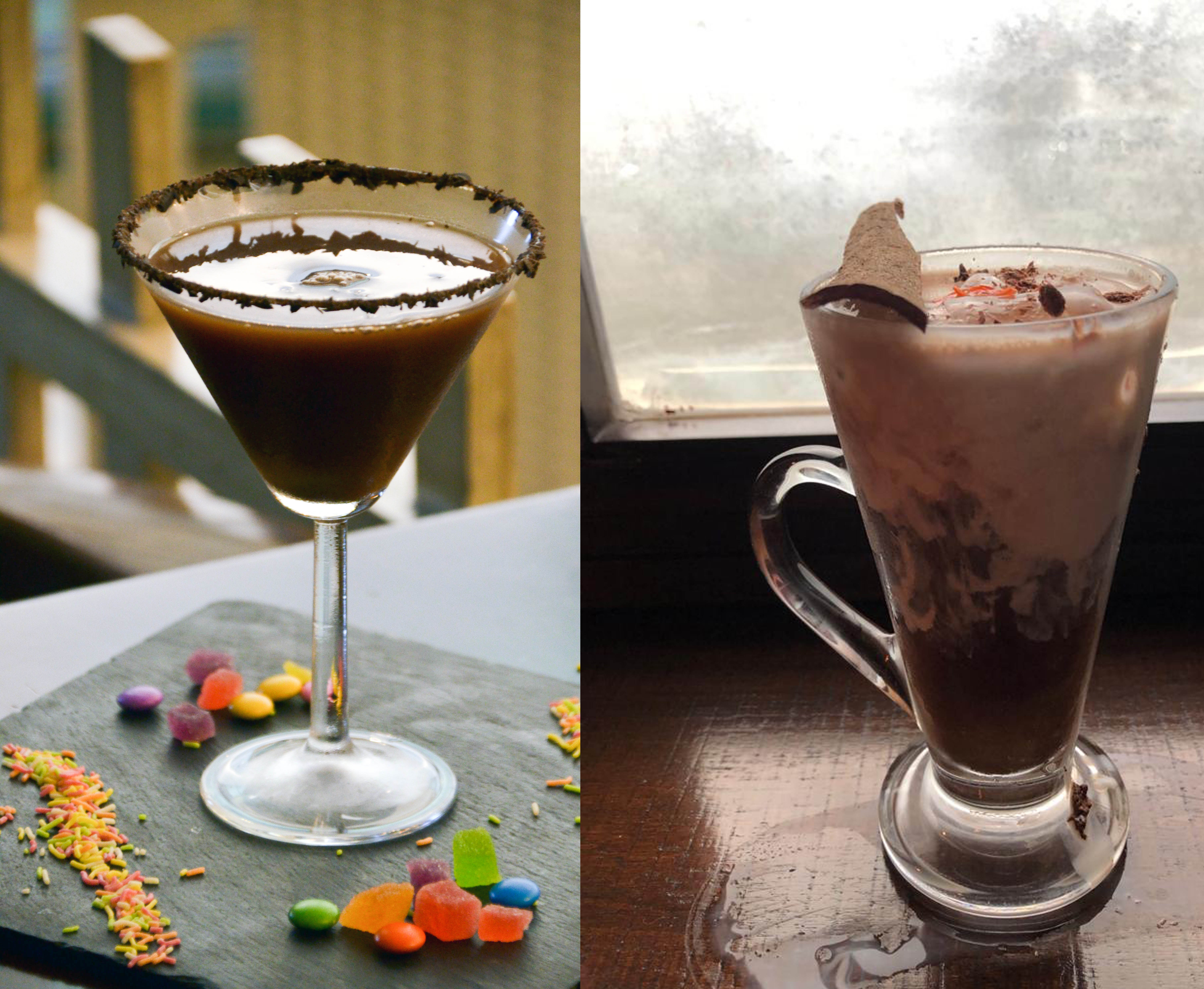 RELISH THE AMAZING TASTE OF THESE CHOCOLATE COCKTAILS