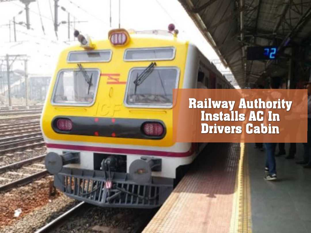 Railway Authority Installs AC In Drivers Cabin