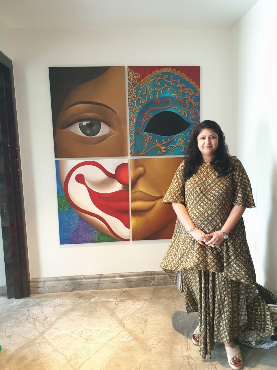 Breaking Norms through Her Art- Artist Surabhi Agarwal