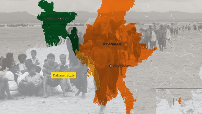 রাখাইনকে বাংলাদেশে অন্তর্ভুক্ত করার প্রস্তাব অমূলক : মিয়ানমার