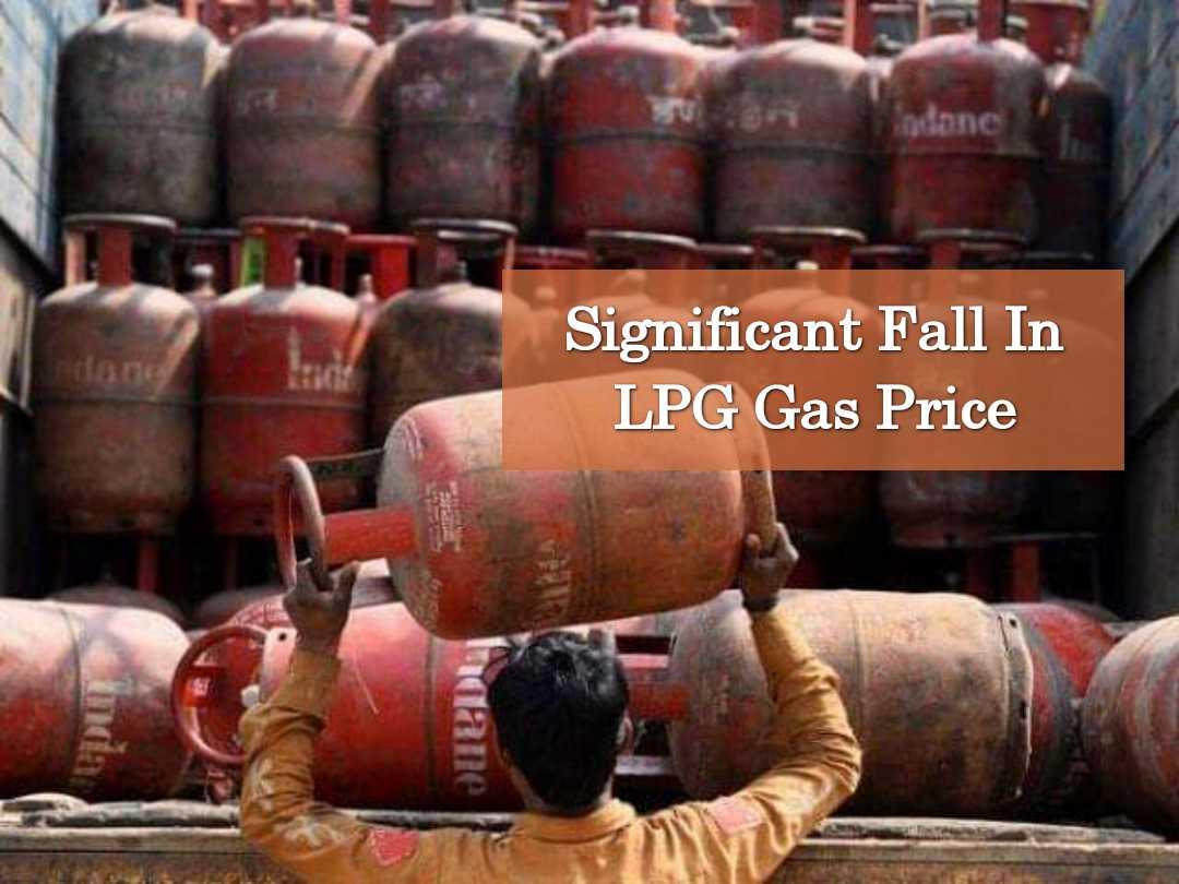 Significant Fall In LPG Gas Price