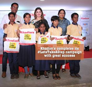 Khadim's completes its #LetsTakeAStep campaign with great success