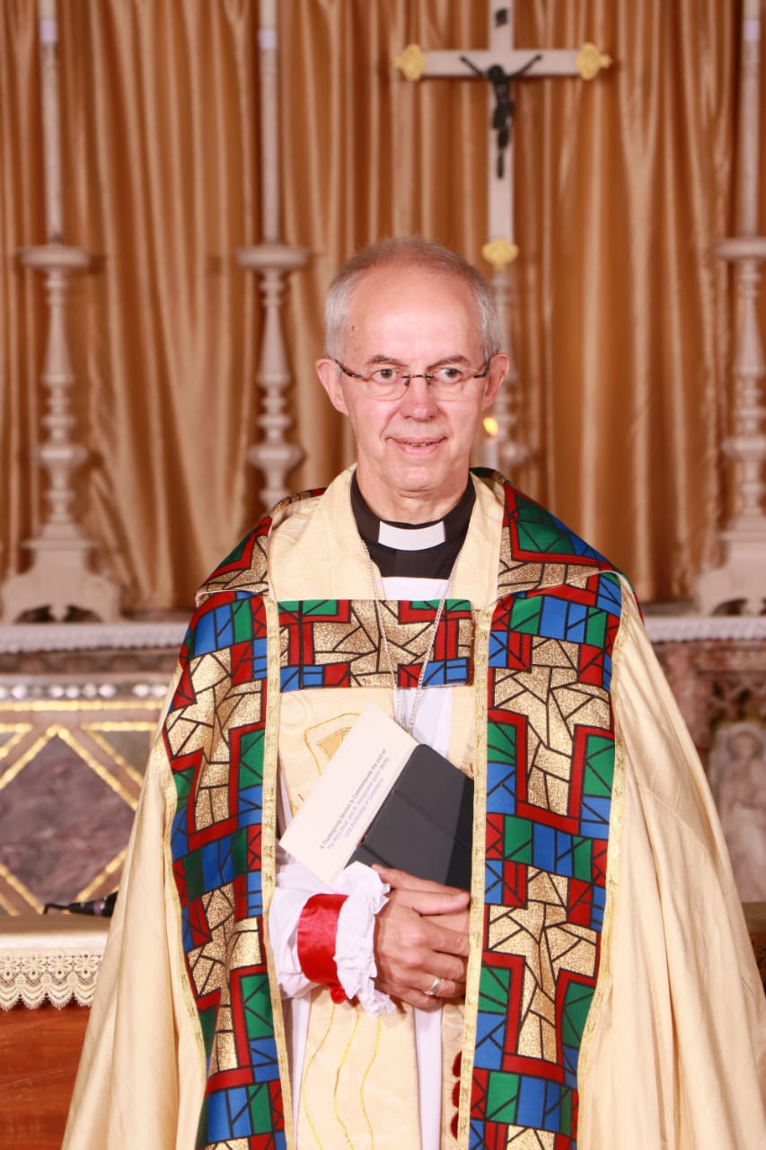The Archbishop of Canterbury makes his historic visit to the City of Joy