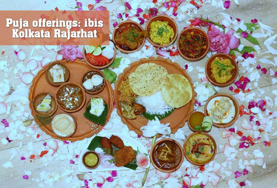 Puja offerings: ibis Kolkata Rajarhat