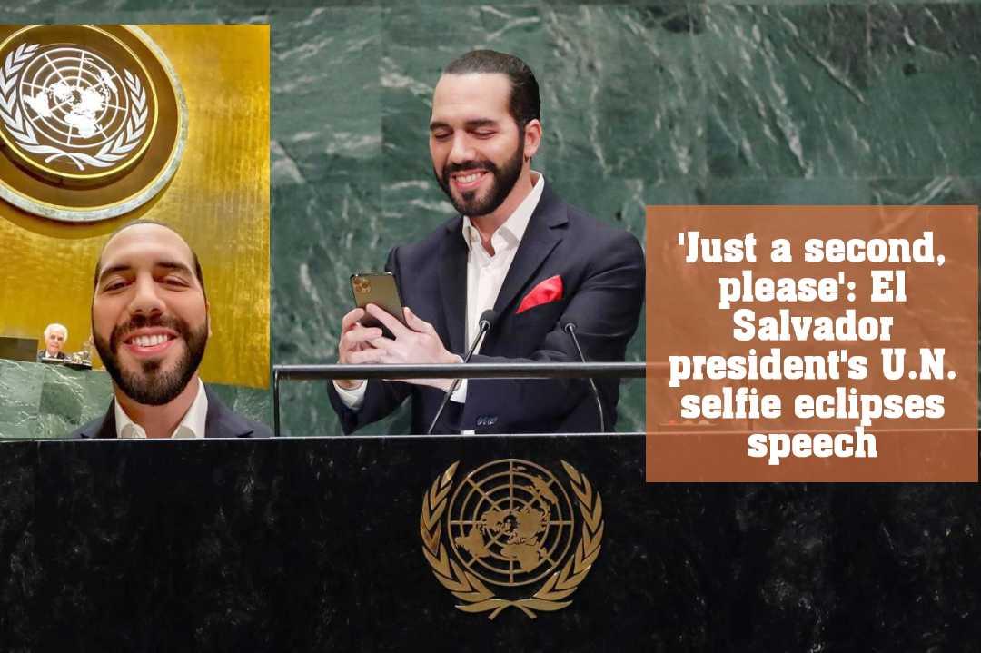 জাতিসংঘের সাধারণ সম্মেলনে প্রেসিডেন্টের সেলফি un selfie eclipses speech