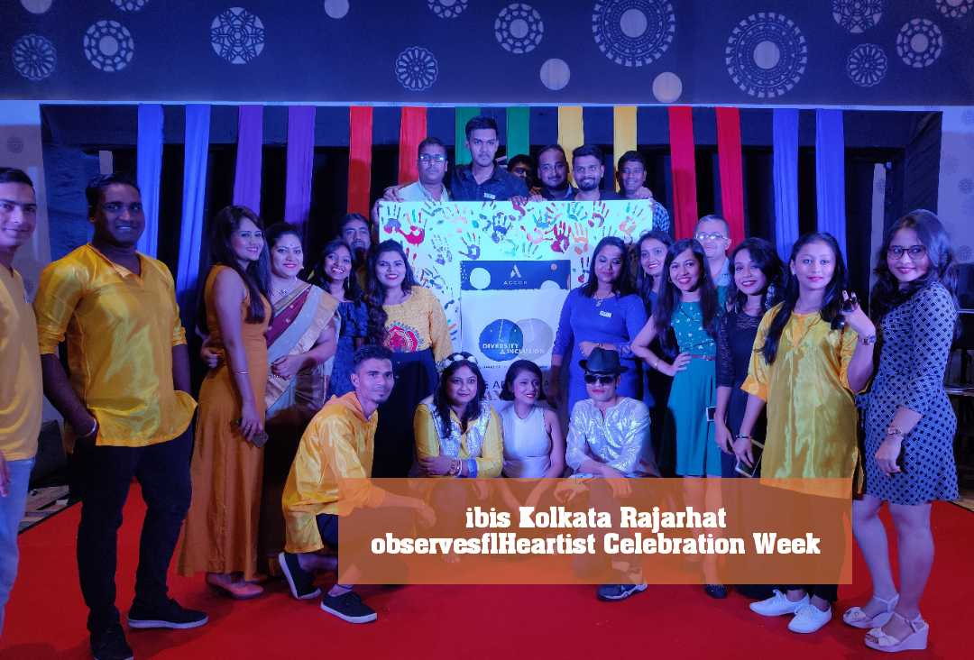 ibis Kolkata Rajarhat observes Heartist Celebration Week ​