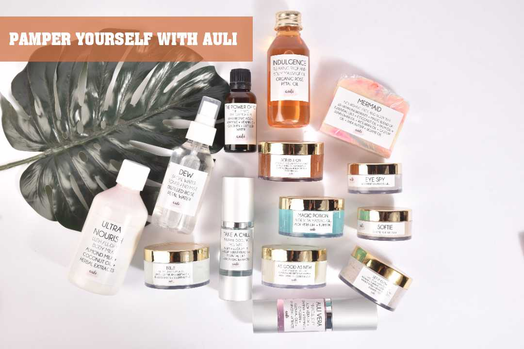 PAMPER YOURSELF WITH AULI