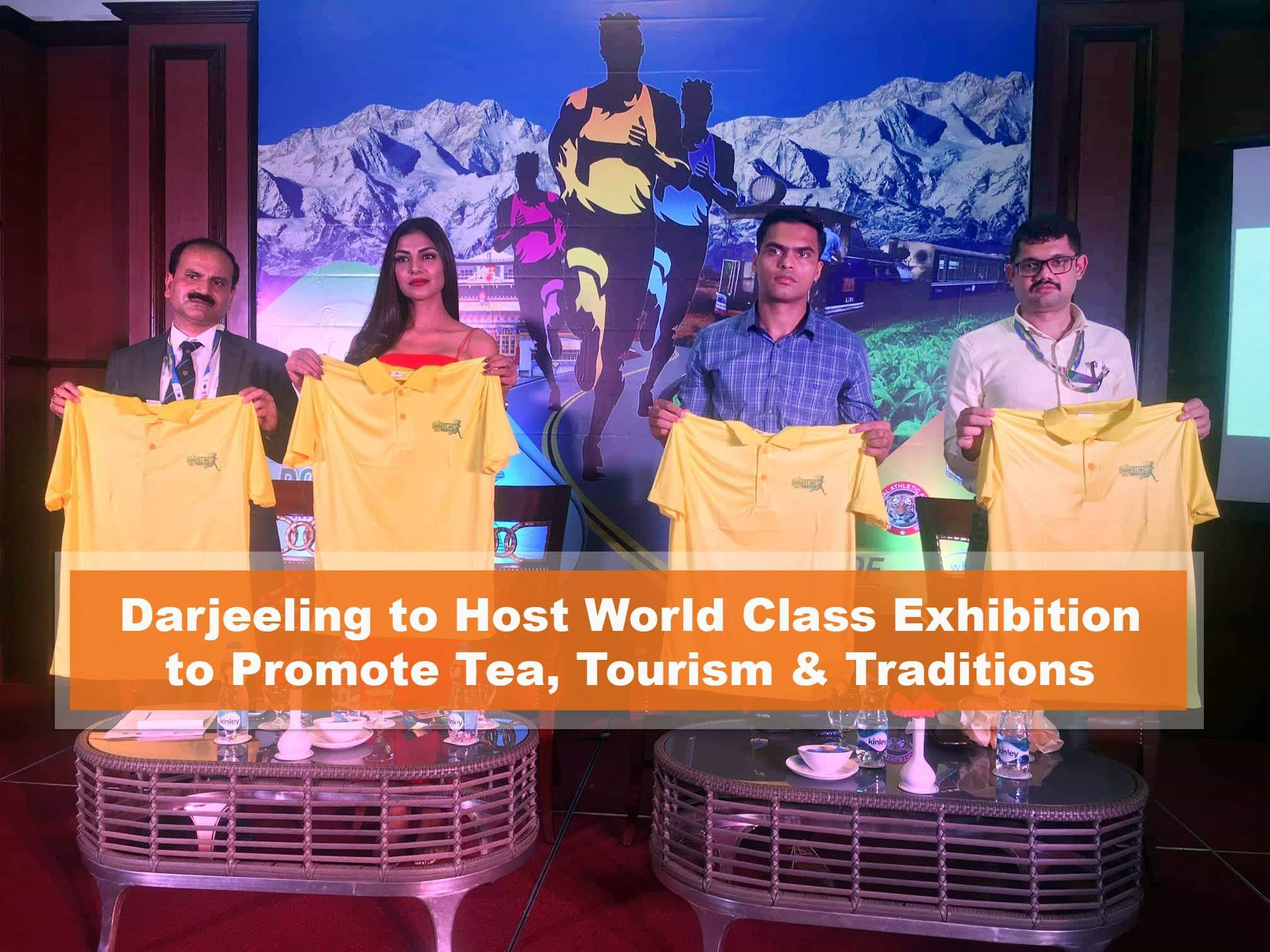 Darjeeling to Host World Class Exhibition to Promote Tea, Tourism & Traditions