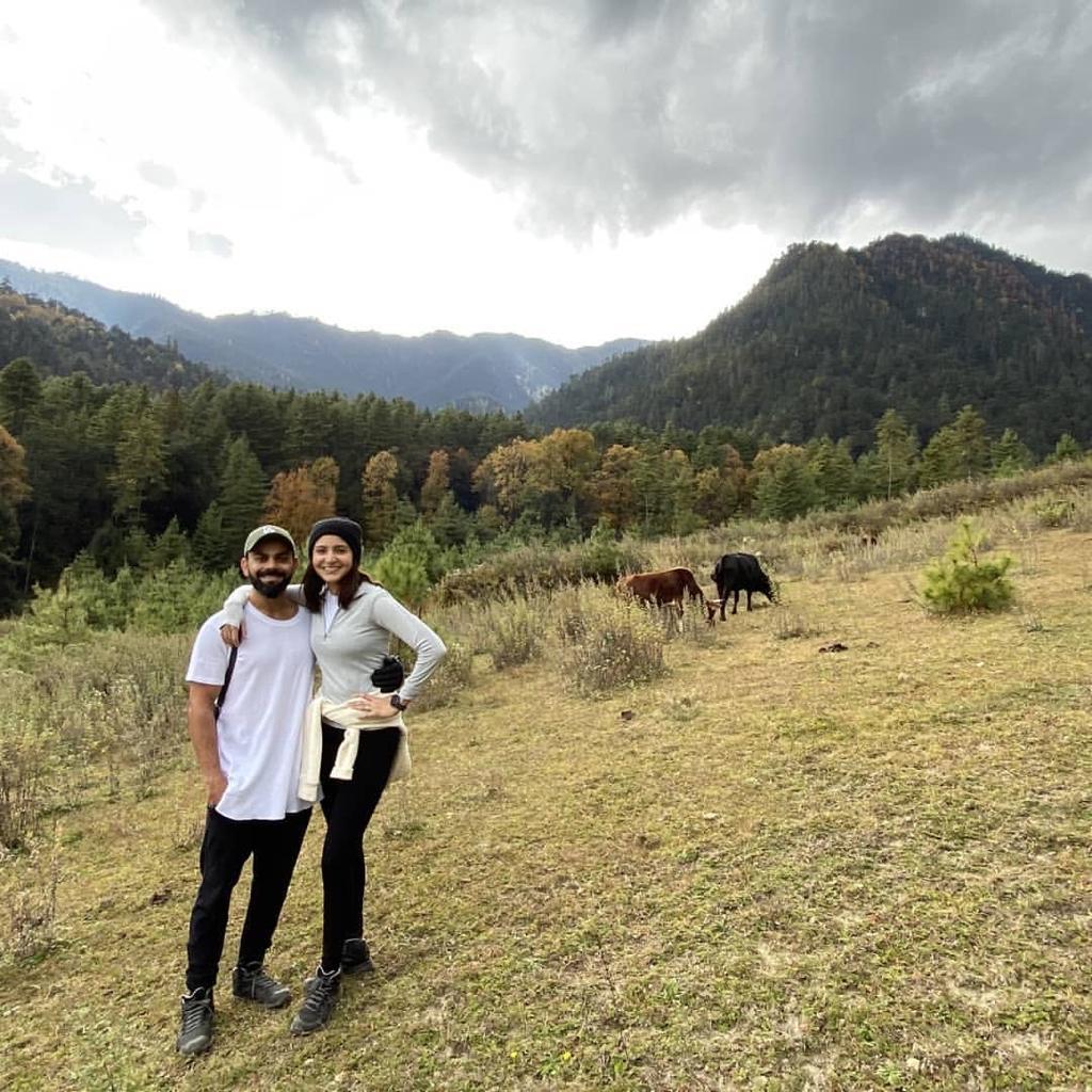 Virat Kohli celebrates a unique birthday with Anushka Sharma in Bhutan