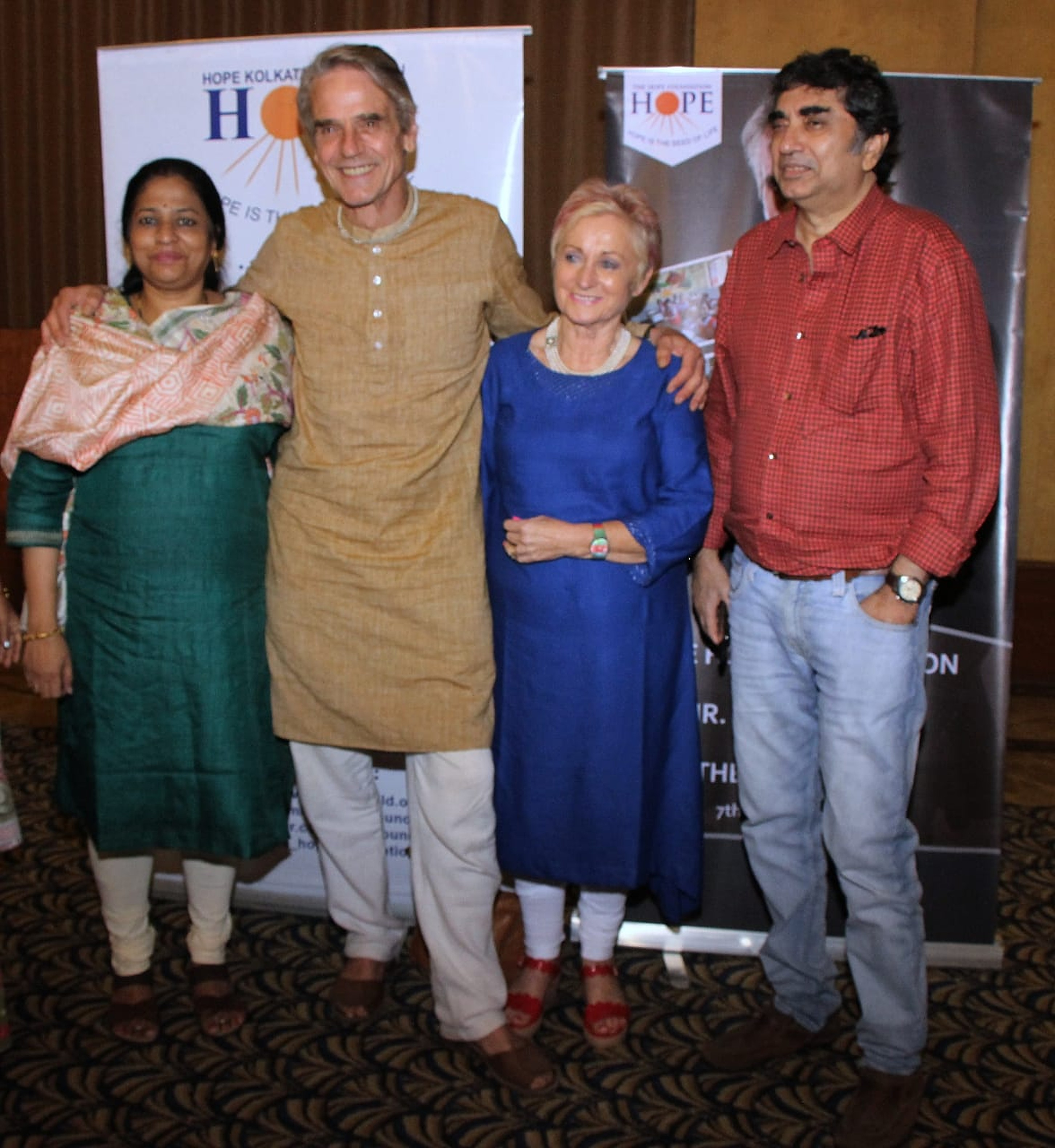 The Hope Foundation brings on Hollywood Actor Jeremy Irons as their Patron & Brand Ambassador