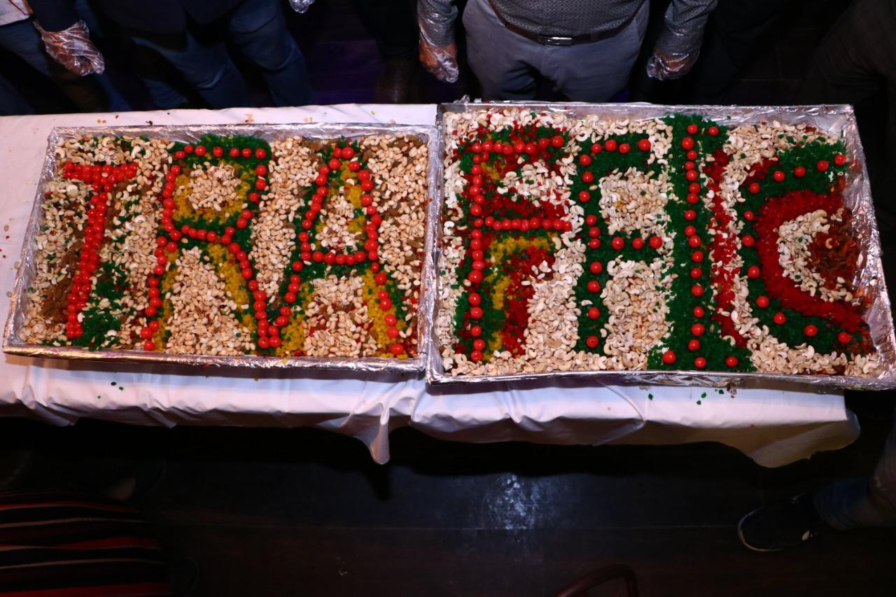 CAKE MIXING CEREMONY AT TRAFFIC GASTROPUB