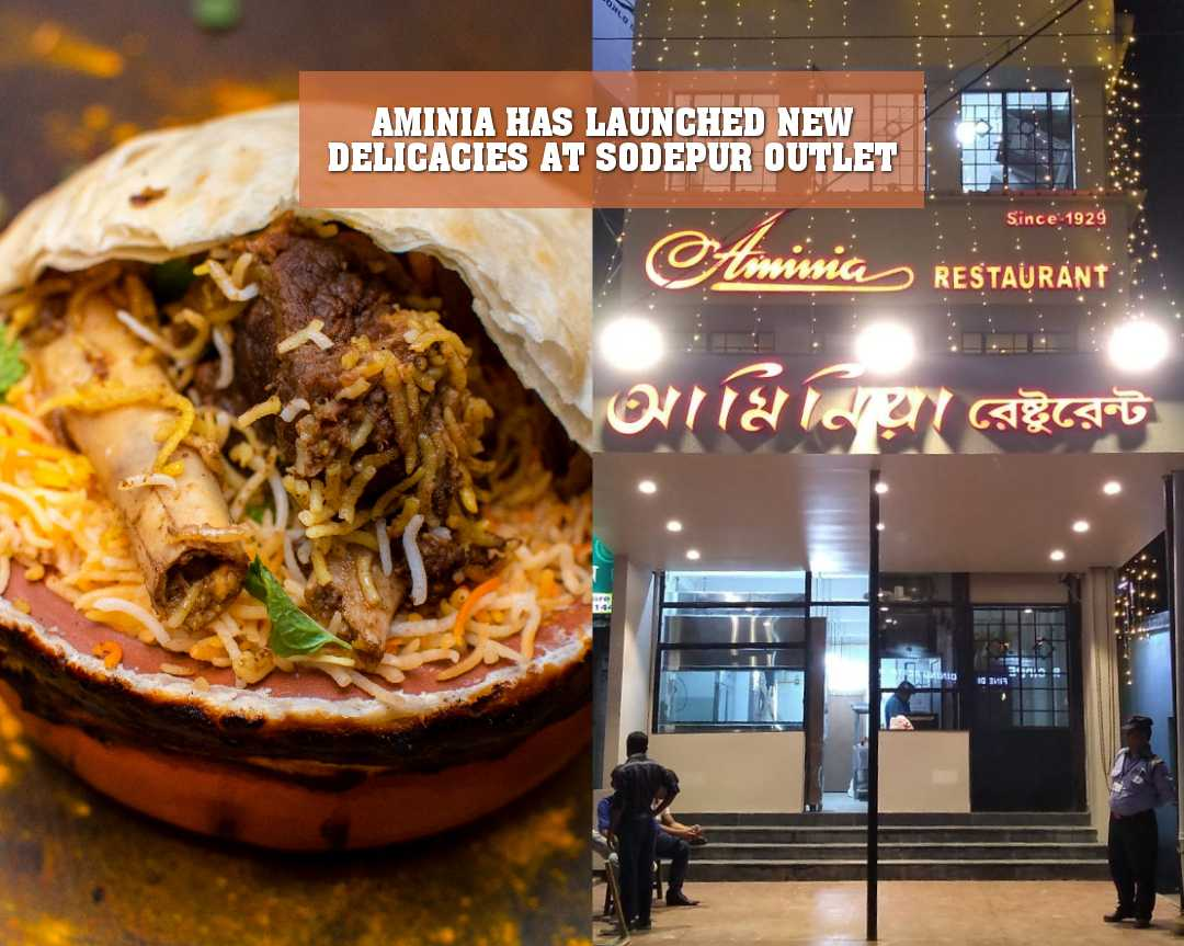 AMINIA HAS LAUNCHED NEW DELICACIES AT SODEPUR OUTLET
