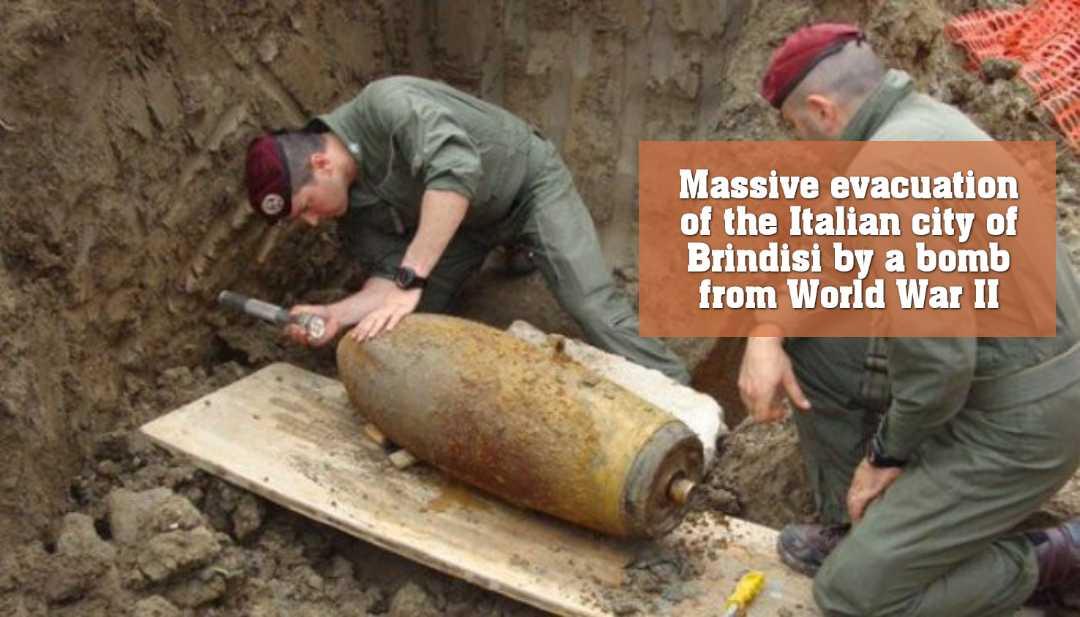 ইতালিতে মিললো দ্বিতীয় বিশ্বযুদ্ধে ব্যবহৃত বিশাল আকৃতির বোমা