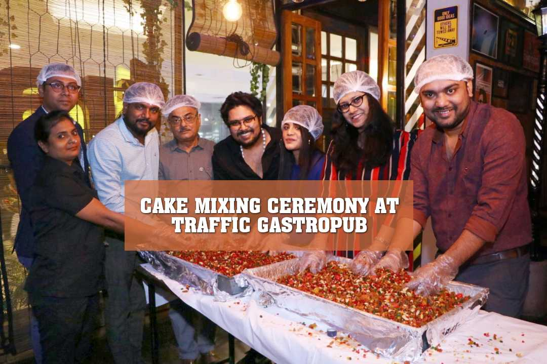 CAKE MIXING CEREMONY AT TRAFFIC GASTROPUB