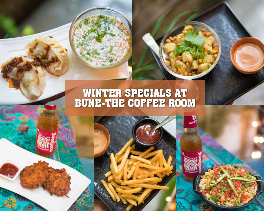 WINTER SPECIALS AT BUNE-THE COFFEE ROOM