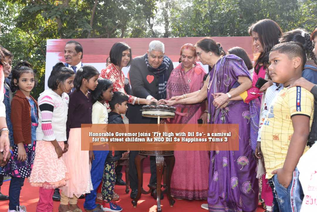 Honorable Governor joins 'Fly High with Dil Se'- a carnival for the street children As NGO Dil Se Happiness Turns 3