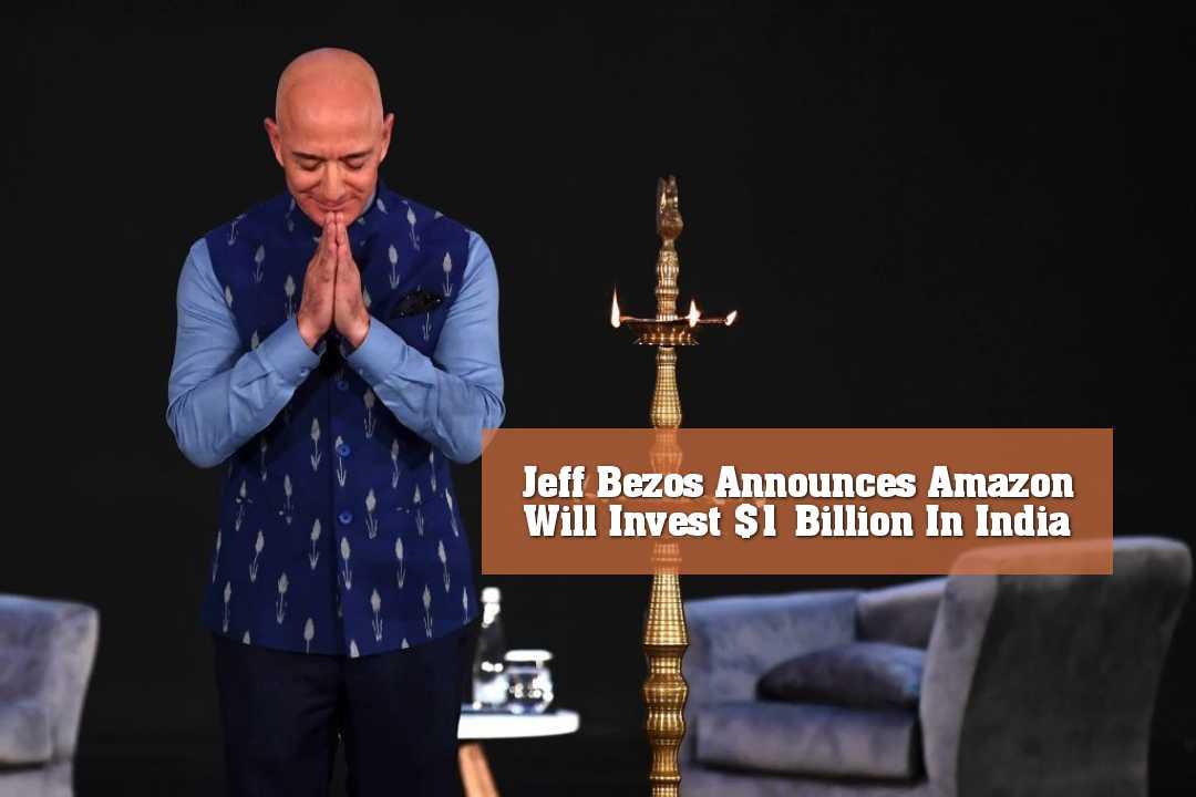 ভারতে ১ বিলিয়ন ডলার বিনিয়োগের ঘোষণা জেফ বেজোসের