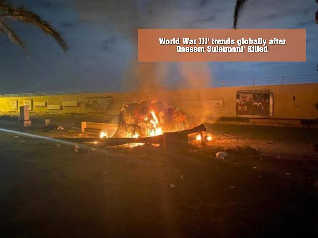 ট্যুইটারে ট্রেন্ডিং #WorldWar3
