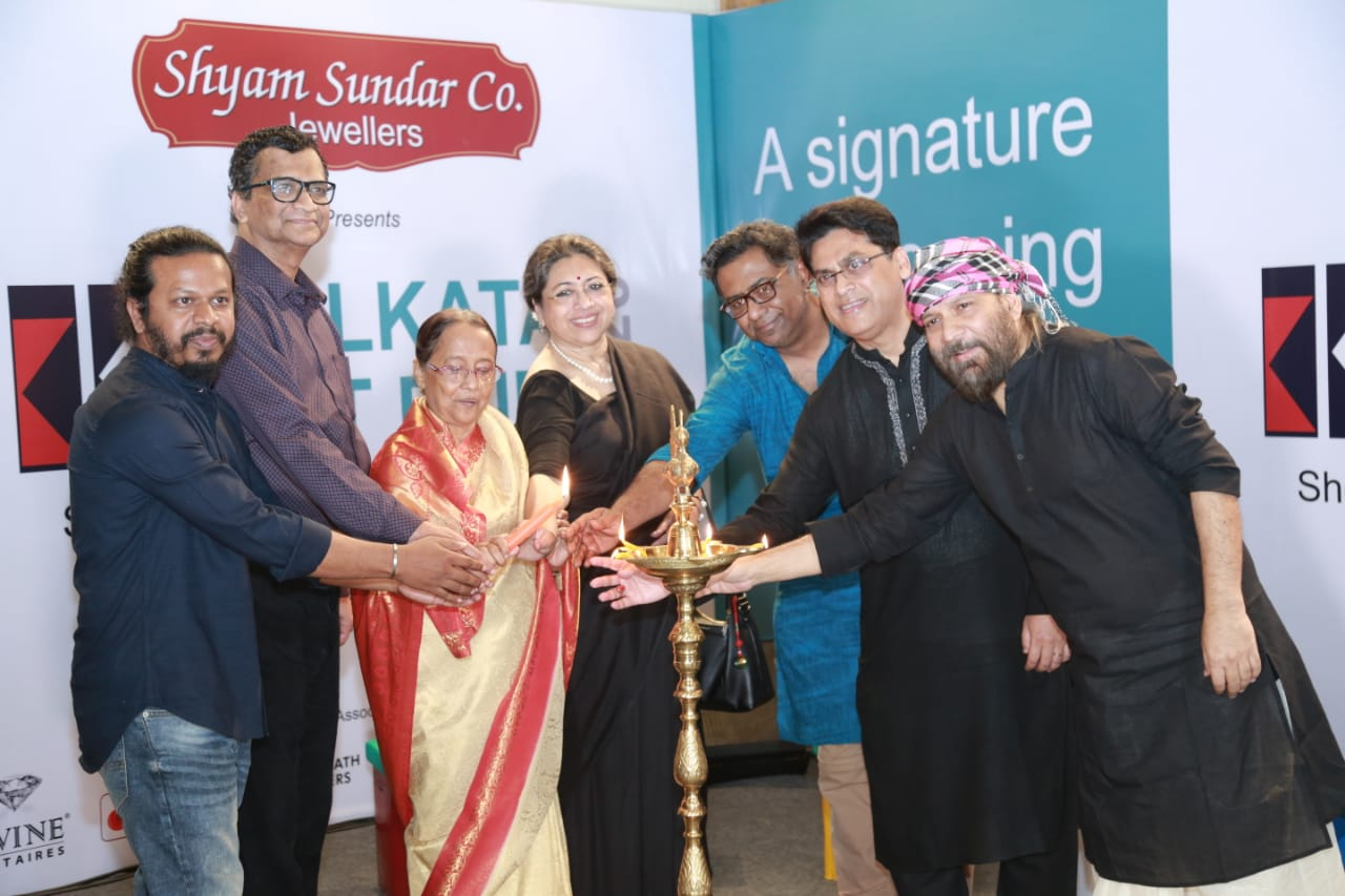 Shyam Sundar Co. Jewellers initiates the first edition of Kolkata Art Fair at ICCR