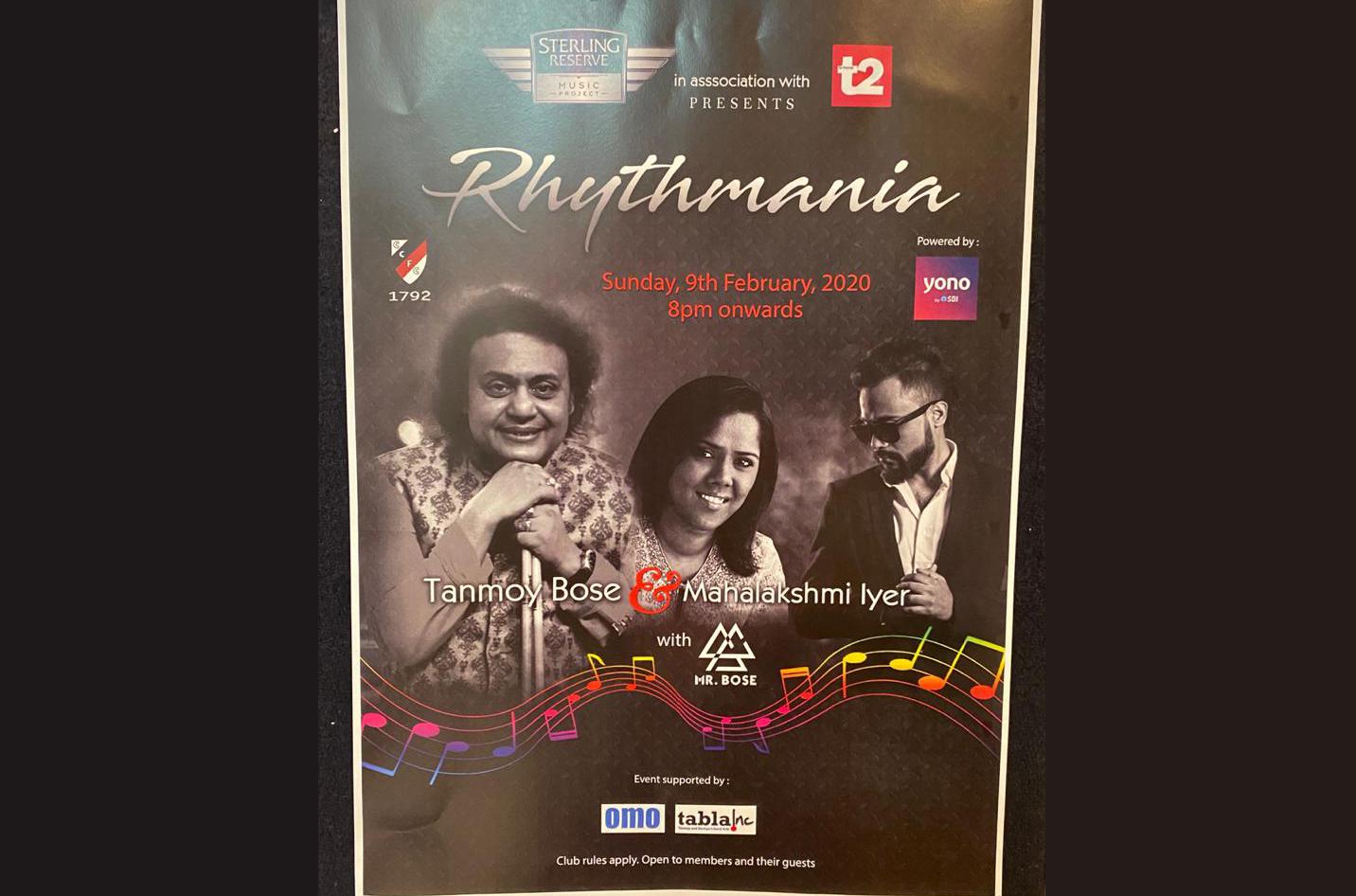 Celebrating Rhythmania at CC & FC