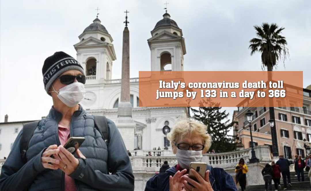 একদিনেই মৃত ১৩৩, ইতালিতে করোনাভাইরাসে মৃতের সংখ্যা বেড়ে ৩৬৬