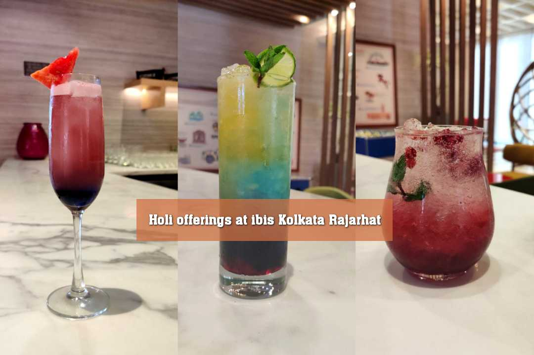 Holi​ offerings​ at​ ibis​ Kolkata Rajarhat