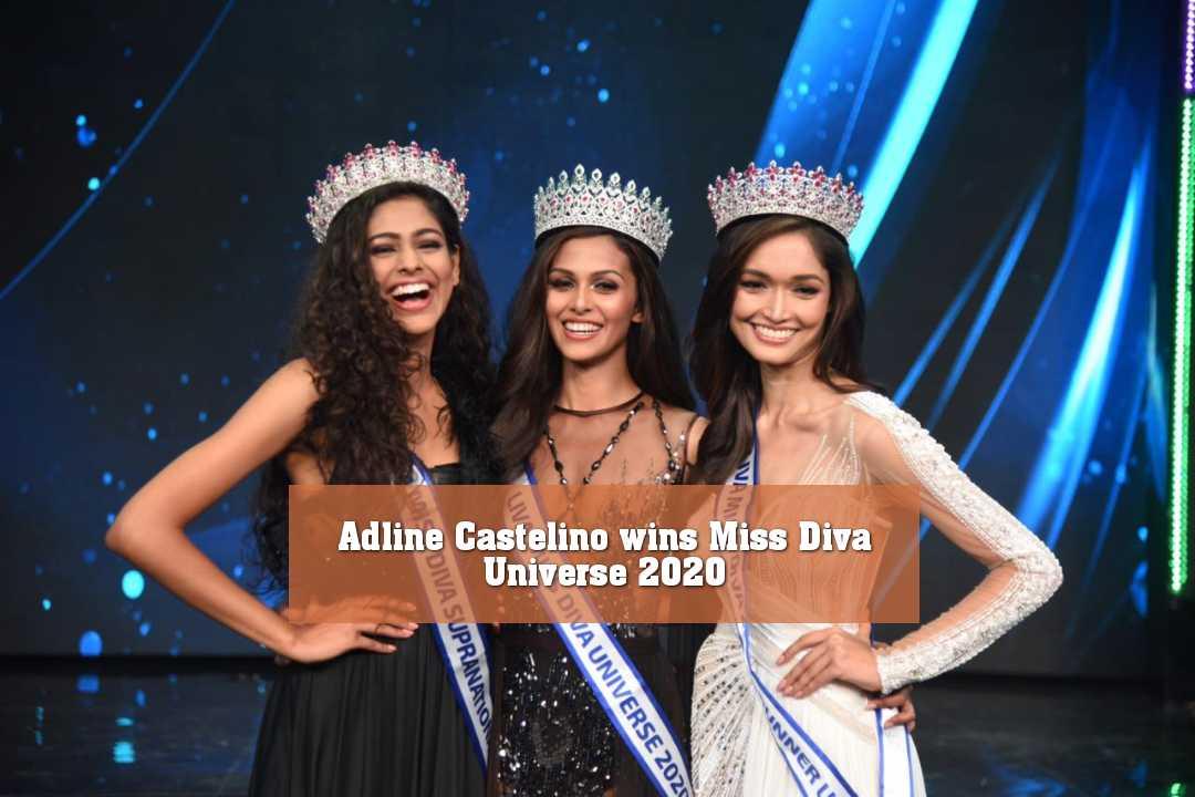 Adline Castelino wins Miss Diva Universe 2020