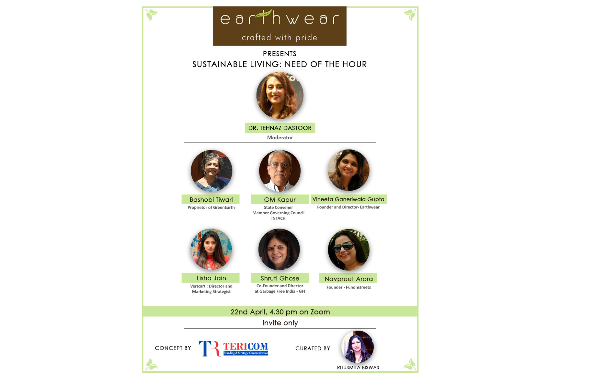 Earth Day With Earthwear- An Enlightening Online Session On Sustainable Living: Need Of The Hour