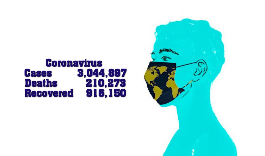 বিশ্বজুড়ে করোনায় আক্রান্তের সংখ্যা ছাড়ালো ৩০ লক্ষ মৃত ২,১০,২৭৩