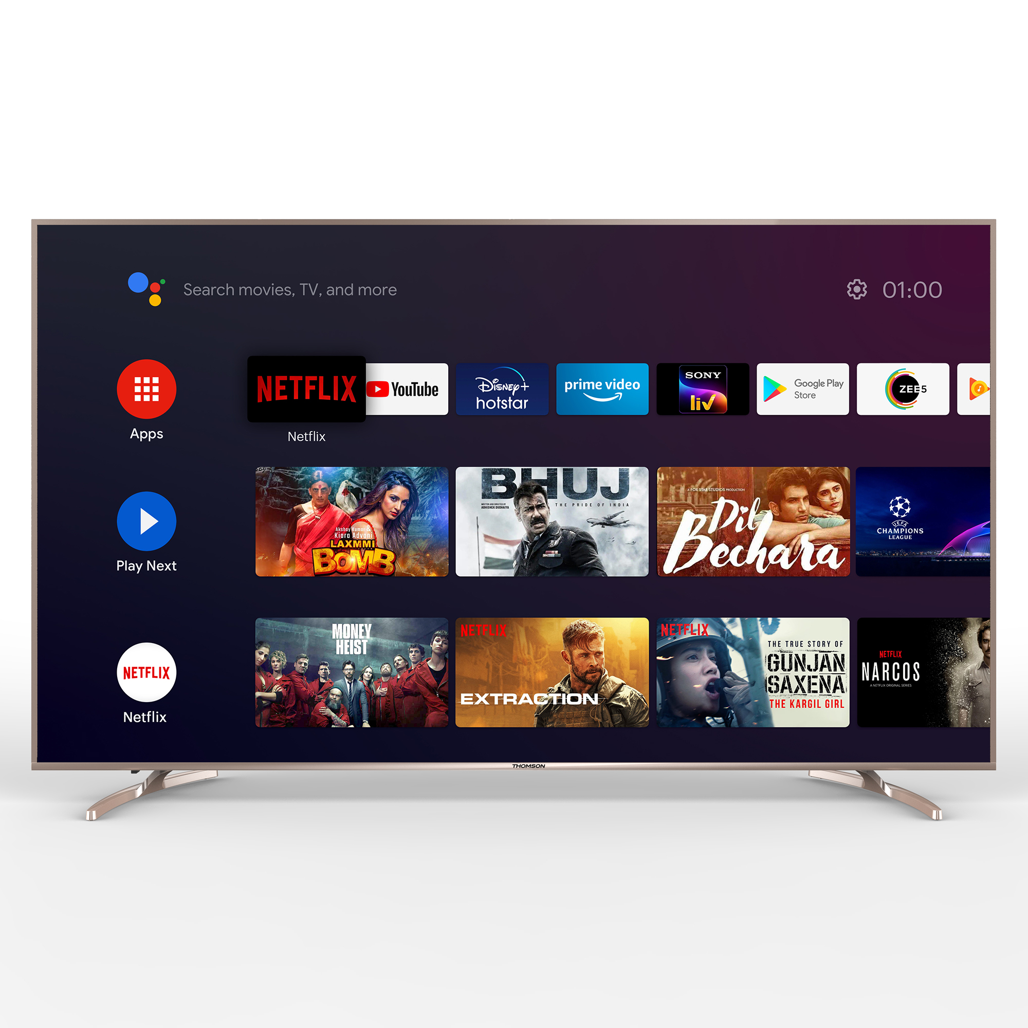 Thomson launches India's first Make in India certified android tv