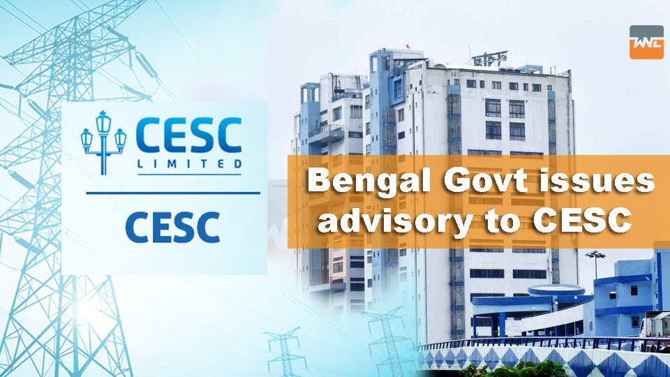 CESC -কে অ্যাডভাইজারি নবান্নর